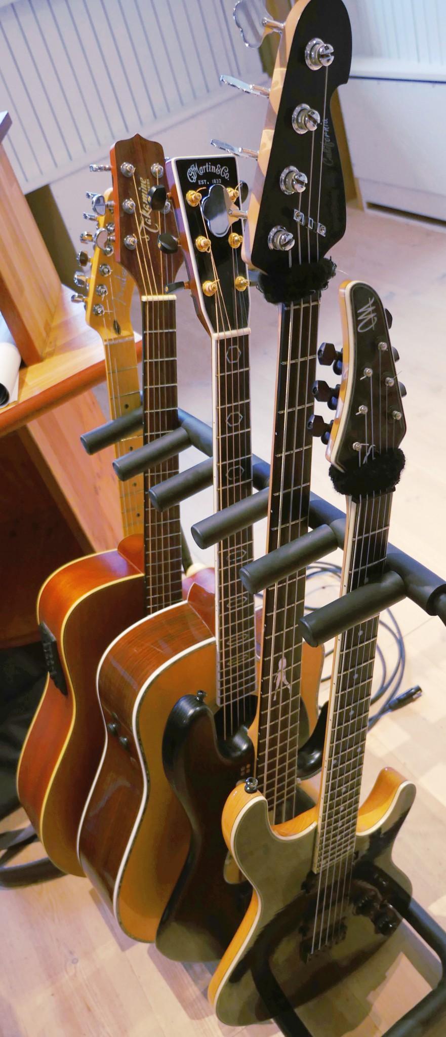 Recording Studio Guitars