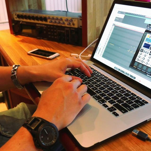 Bild på Macdator inspelningsstudio Göteborg