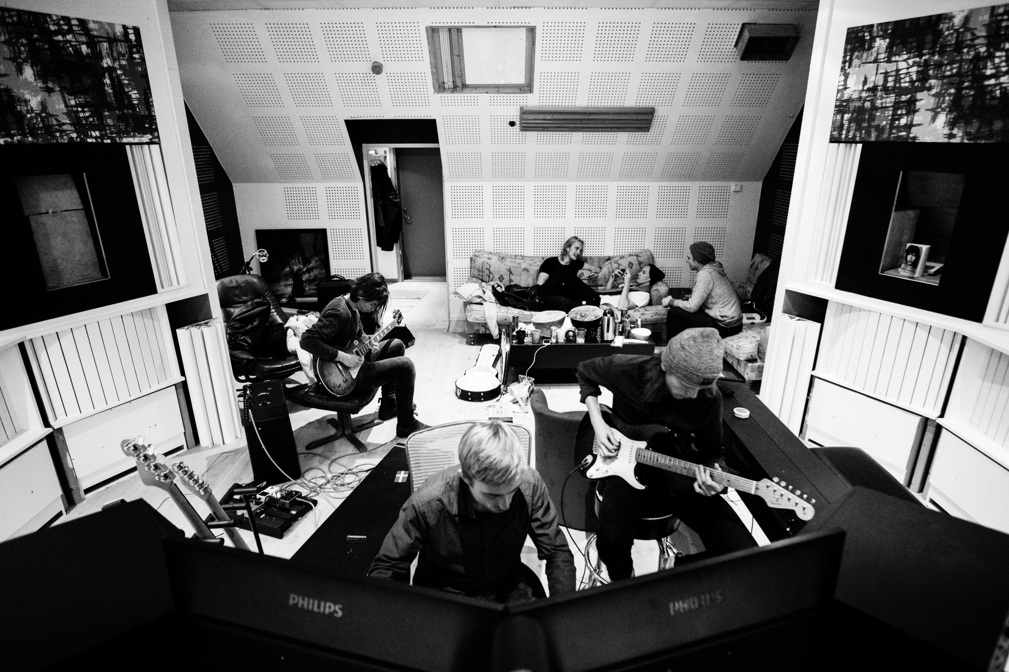 Located In The Heart Of Stockholm Rexius Records Professional Music Studio Is Available To Talented Local And International Musicians Who Want Record
